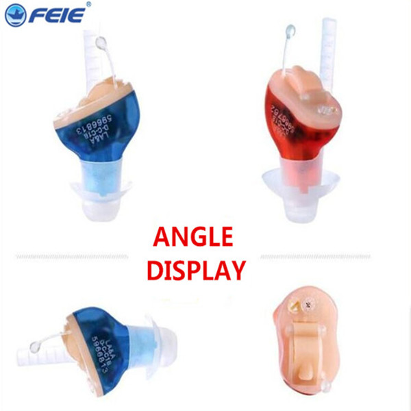 Guangzhou FEIE mini S-10B hearing aid cic feie  micro ear digital hearing amplifier for Elderly feie company digital programmable mini in ear hearing amplifier cic aparelho auditivo invisivel s 12a online sale