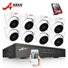 ANRAN Plug And Play 8CH 48V POE NVR CCTV System Onvif P2P 1080P 2 0MP HD