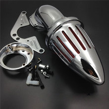 For 1999&up Yamaha Road Star 1600 1700 XV1600A XV1700A Motorcycle Air Cleaner Kit Intake Filter Chrome 1999 2000 2001