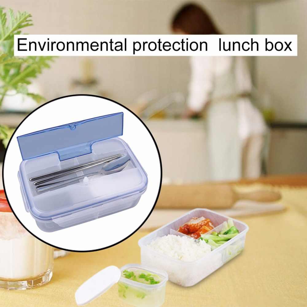 OUTAD 1000 مللي الصلبة البلاستيك في الهواء الطلق المحمولة الميكروويف عبوة طعام مع وعاء الحساء حاويات طعام الصديقة للبيئة الغذاء التخزين
