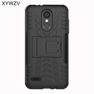 Image 2 - sFor Coque LG K8 2018 Case Shockproof Hard PC Silicone Phone Case For LG K8 2018 Cover For LG K 8 2018 Phone Bag Shell 5.0 inch