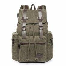 Outdoor Sports Travel Bag for Men Canvas Sport Rucksack Camping School Satchel Hiking Backpack Large Capacity