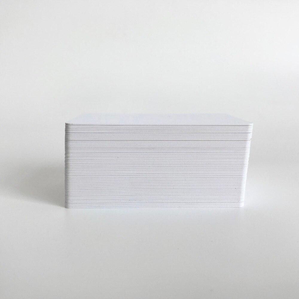 Eerlijk 10 Stks/partij Hoge Kwaliteit Lege Plastic Pvc Id-kaart Inkjet Printable Visitekaartje Cr80 * 30mil Voor Epson Of Canon Inkjet Printers 2019 Nieuwe Mode-Stijl Online