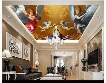 3d foto behang 3d celing behang muurschilderingen engelenvleugels