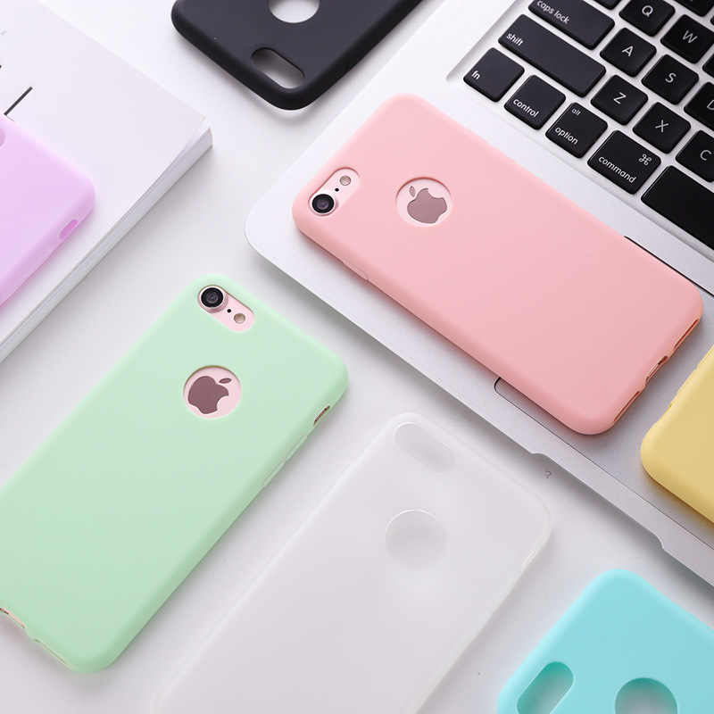 Phone Cases For iPhone 8 Plus Case Silicone TPU Cover For iPhone XS Max XR X S 7 Plus 8 7 6 6S 5 5S Coque Fundas Hoesjes EEMIA