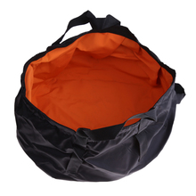 8.5L Ultralight Hiking Camping Folding Washbasin Bucket Outdoor Fishing Washing Basin Portable Water Container Bag Survival Tool