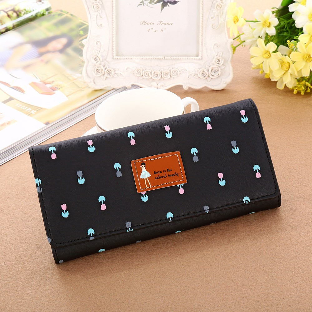 Aelicy New Envelope Clutch Large Capacity Wallet For Women PU Leather Hasp Fashion Wallet For Phone Money Bags Coin Purse 5