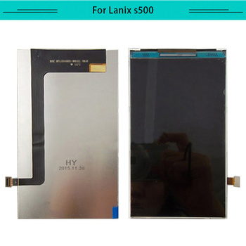 Tested 5pcs/Tested 5Pcs LCD For LANIX Ilium s500 LCD Display glass Screen digitizer Monitor Replacement and Free Shipping