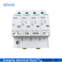 IPRU 4P 420V 30KA~65KA House Surge Protector Protective Low voltage Arrester Device 3P+N