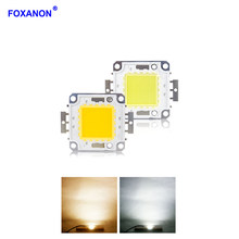 Foxanon High Power 10W 20W 30W 50W 100W LED Light Chip DC12V 36V COB Integrated LED Lamp Chips For DIY Floodlight Spotlight Bulb(China)