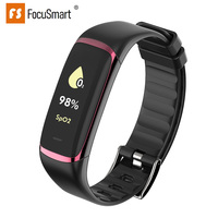FocuSmart P9 smart bracelet HRV cardiac health SpO2 Real time blood oxygen heart rate monitor smart wristband for Healthy
