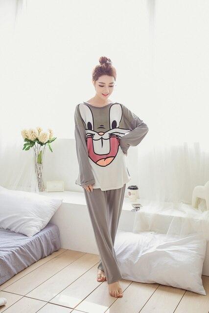 pyjamas women Loungwear Pyjamas Full Sleeve Tops Onesie kigurumi Pajamas  Set Womens Night Suit Sleepwear pajamas 3cfabf9991