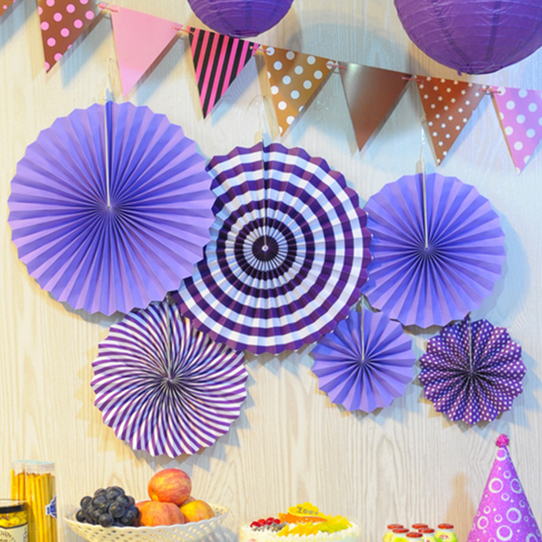 Modern paper fan flowers images images for wedding gown ideas how to make paper fan flowers image collections flower decoration mightylinksfo
