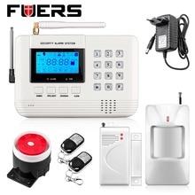 Nuevo 6 Wireless 4 zonas de defensa Con Cable de Seguridad GSM Sistema de Alarma Antirrobo Voz altavoz incorporado para el intercomunicador serucitry Auto Dial
