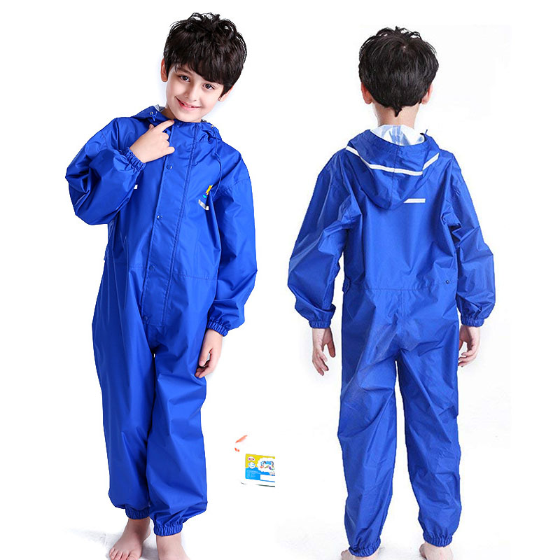 Yuding Waterproof Raincoat Toddler Children Pants Baby Rain Coat Rainwear Kids Rainsuit Outdoor Boys Girl Raincoats For Children