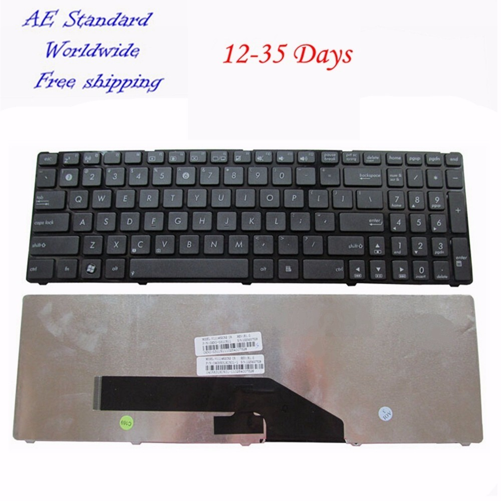 New ASUS K50 X5DI K50A K50AB K50IJ K50ID K50IN keyboard US English Version