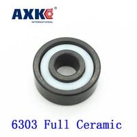 2017 Rodamientos Axk 6303 Full Ceramic Bearing 1 Pc 17 47 14 Mm Si3n4 Material 6303ce