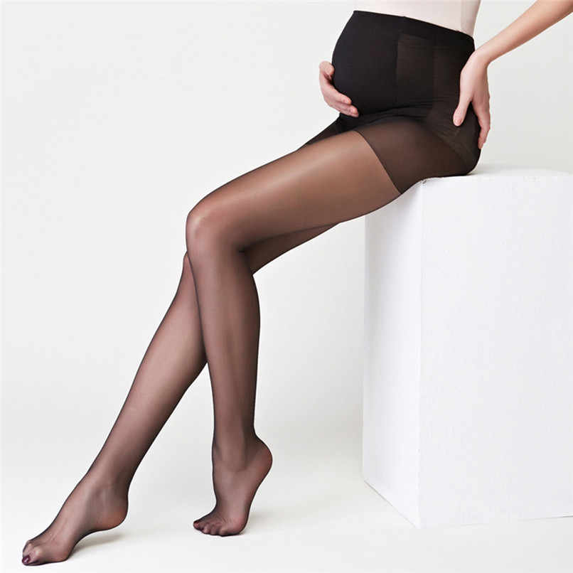 Pregnancy Pantyhose Solid Piece Socks Siamese Tights For Pregnant Women Silk stockings NDA84L11 *P