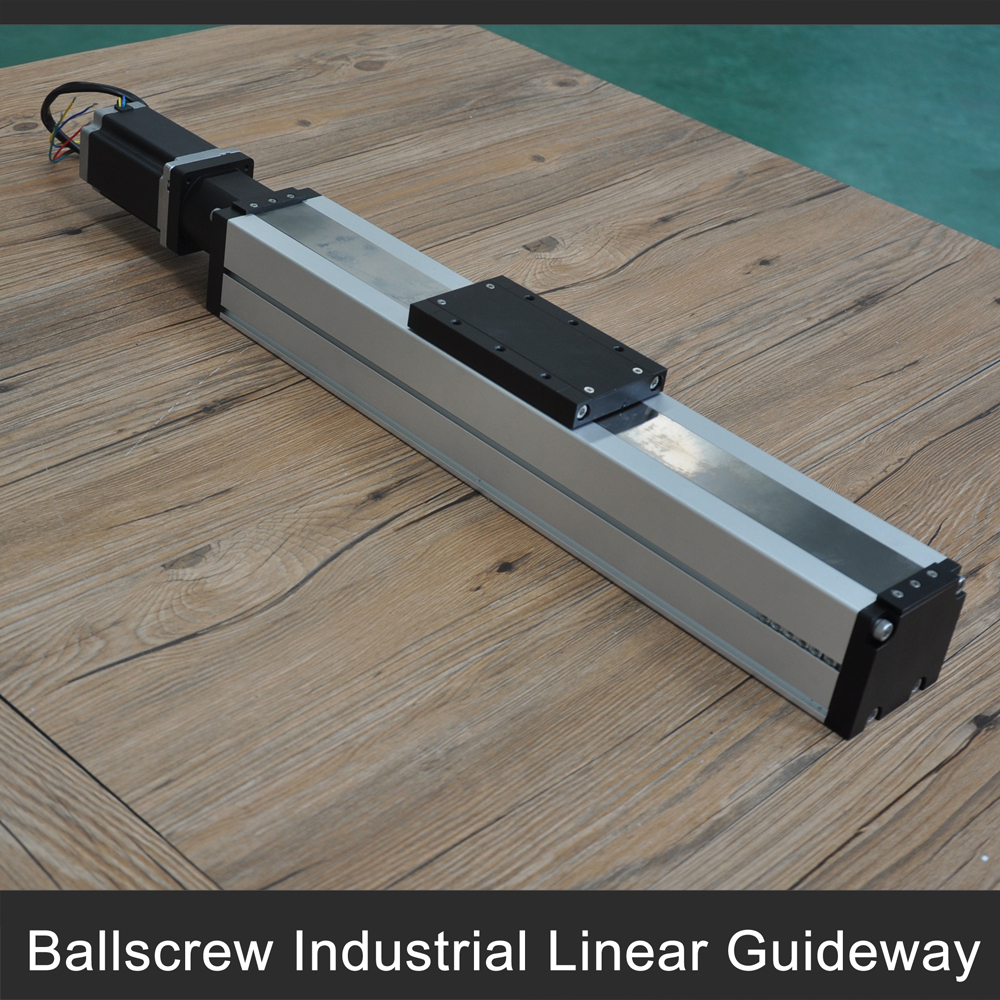 Free shipping ballscrew and stepper motor driven 400mm stroke linear motion guides for linear motion