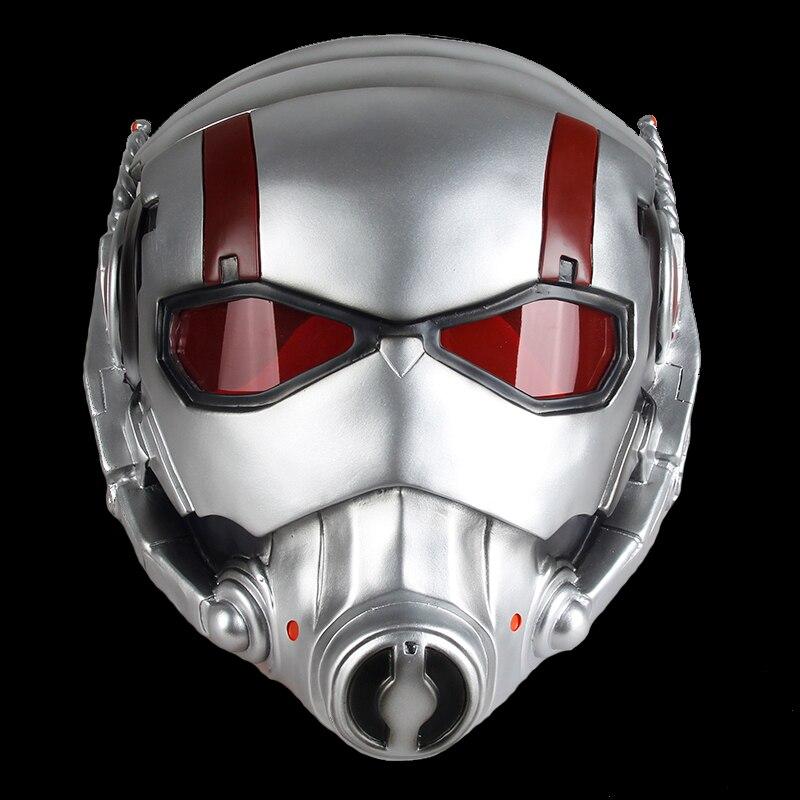 Ant-Man masque thème du film Marvel Comics super-héros jeu de rôle pour fête Halloween noël Cosplay résine masque adultes masque complet