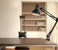 Long Swing Arm Desk Lamp Led Table Lamp Office Led Reading Light Home Led Desk Lamp Clip