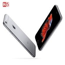 """잠금 해제 된 Apple iPhone 6S Plus 16/64/128GB iOS 듀얼 코어 2GB RAM ROM 5.5 """"12.0MP 카메라 LTE 지문 4K 비디오 휴대 전화"""