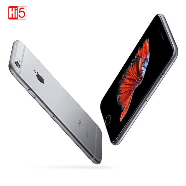 """Unlocked Apple iPhone 6S artı 16/64/128GB iOS çift çekirdekli 2GB RAM ROM 5.5 """"12.0MP kamera LTE parmak izi 4K Video cep telefonu"""
