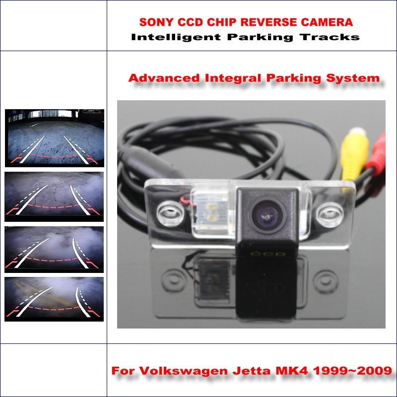 High Quality Intelligentized Car Rear Reverse Camera For Volkswagen Jetta MK4 / Bora A4 NTSC PAL RCA SONY CCD 580 TV Lines цена 2017