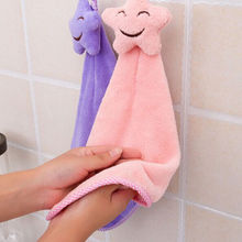 Микроволокно мультфильм Ванная Кухня Офис детская рук лица; Полотенце для сушки волос; Головные уборы