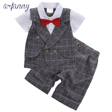 Baby Clothes Boys suits for wedding Kids British Wind Birthday Dress Boygentleman suit Children clothing disfraz