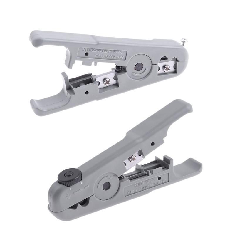 Zangen GüNstiger Verkauf Kabel Stripper Universal Praktische Stripper Für 3,2-9mm Koaxialkabel Kunststoff Griff Kabel Draht Stripper Tv Abisolieren Werkzeug Werkzeuge