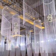 8 цветов 1x2 м блестящая кисточка Вспышка Серебряная линия струнная занавеска для окна или двери разделитель отвесная занавеска балдахин домашнее свадебное украшение
