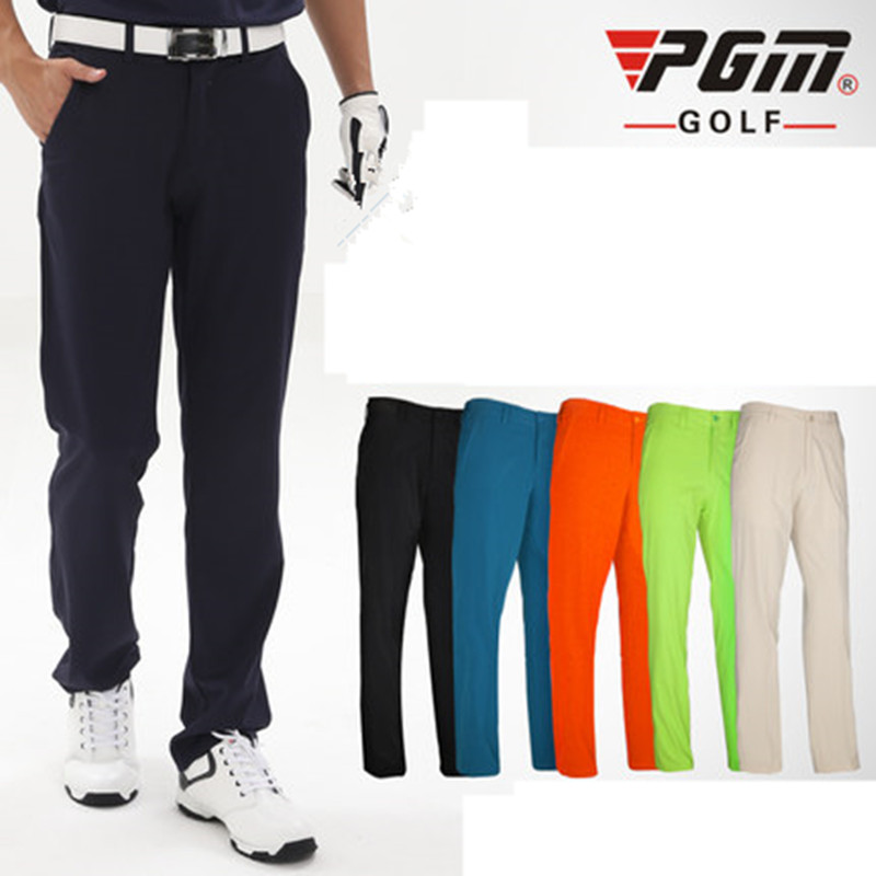 2018 Real New Arrival Men Broadcloth Plaid Golf Pants Men Pgm Golf Ball Mens Trousers Pants Big Yards Waterproof Clothing pgm autumn winter waterproof men golf trousers thick keep warm windproof long pants vetements de golf pour hommes golf clothing