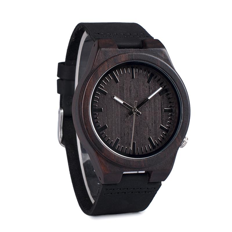 Zegarek drewniany Bobo Bird Dark B12 16
