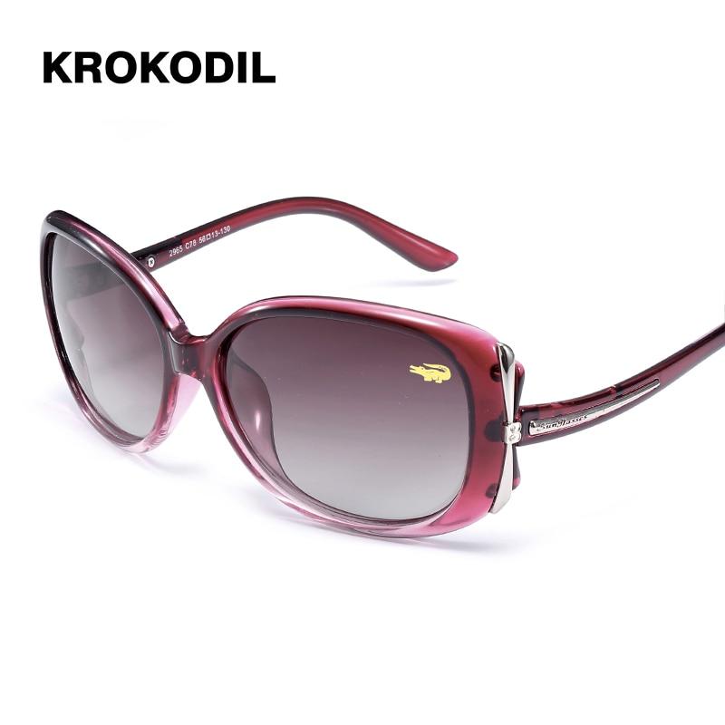 Dragonfly Fashion Polarized Sunglasses Classic Women Brand Designer Metal Square Sun Glasses UV400 2965