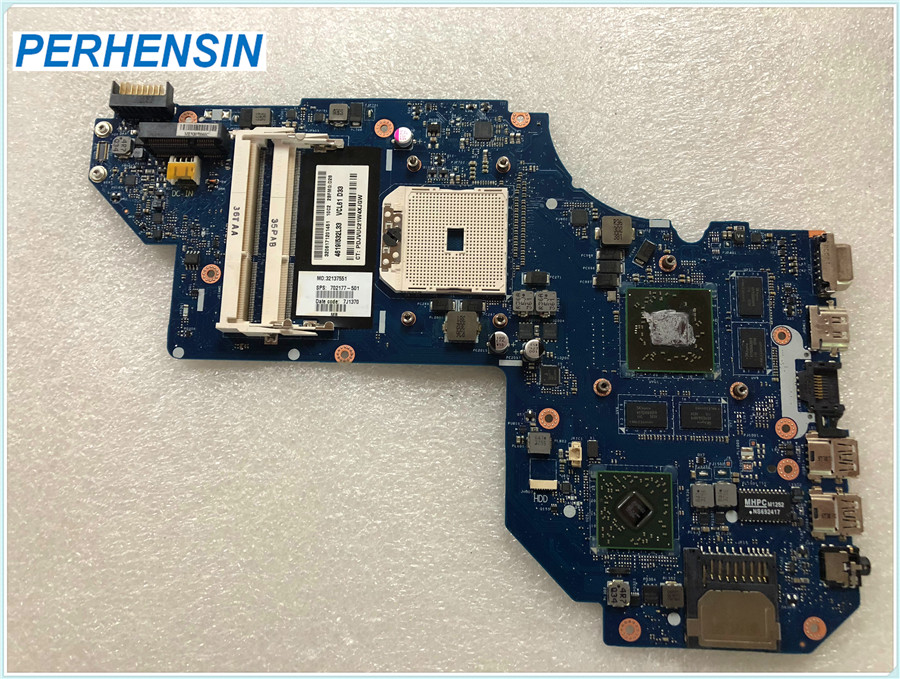 Motherboard 702177-001 For HP For Envy M6 M6-1000 Series Laptop Motherboard QCL51 <font><b>LA</b></font>-<font><b>8712P</b></font> Socket FS1 DDR3 100% WORK PERFECTLY image