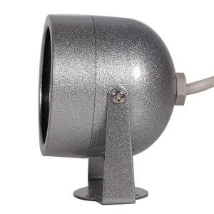 Image 5 - AZISHN cámara de vigilancia con Audio CMOS 700TVL, 30 luces LED de visión nocturna, seguridad exterior, Color metal, impermeable, CCTV