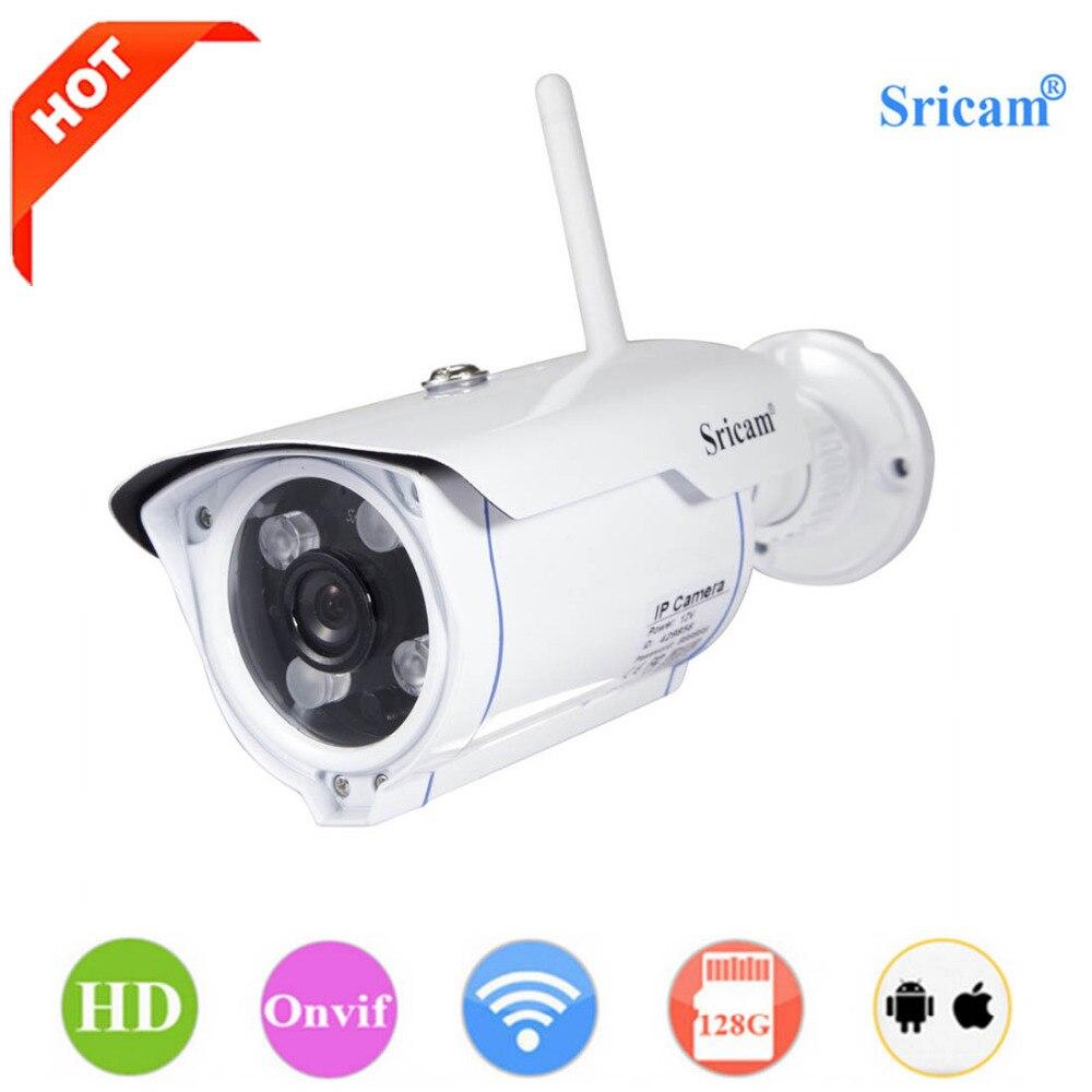 bilder für Sricam SP007 WiFi 720 P Ip-kamera Drahtlose Unterstützung P2P Onvif netzwerk Phone Remote View Wasserdichte Outdoor Smart Home Cam EU stecker