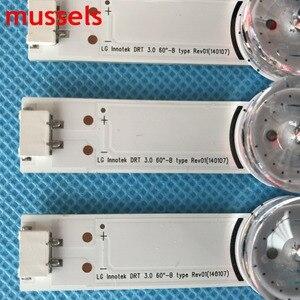 """Image 3 - Tira de luz de fundo led para lg 60 """"tv 11 lâmpada 125cm innotek drt 3.0 a \ b tipo 60gb6580 60gb6500 lc600duf (fg) (p2) monitor lcd original"""