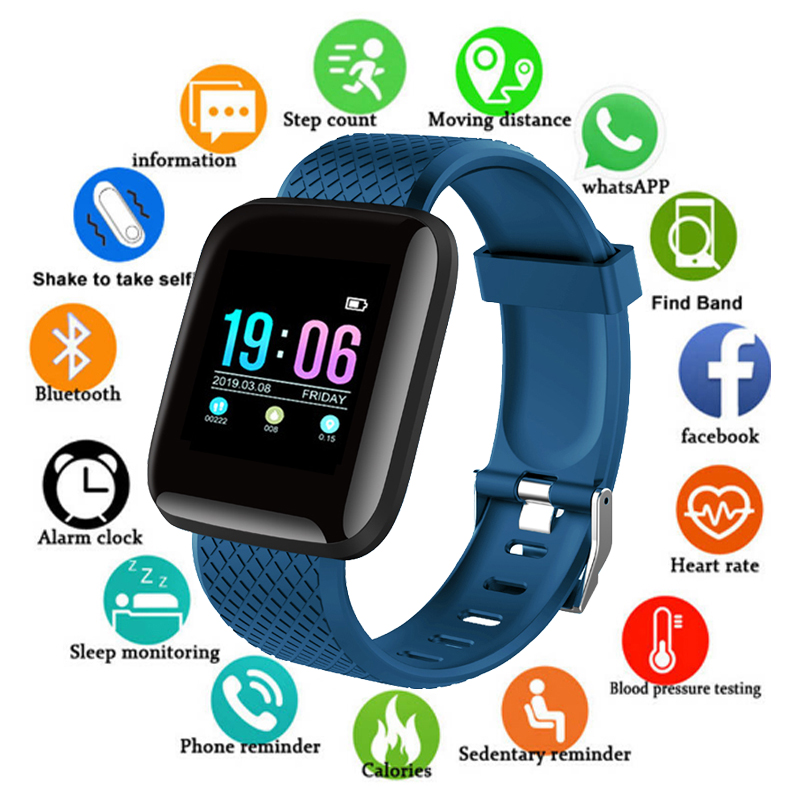 D13 Smart Watch MenWomen Heart Rate Monitor Blood Pressure Fitness Tracker Smartwatch Sport Smart Clock Watch For IOS Android xanes a6s
