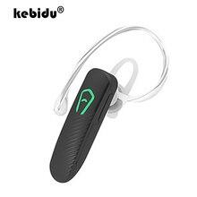 Kebidu mini handfree earhook fone de ouvido sem fio bluetooth 4.0 fone estéreo com microfone para iphone samsung huawei telefone