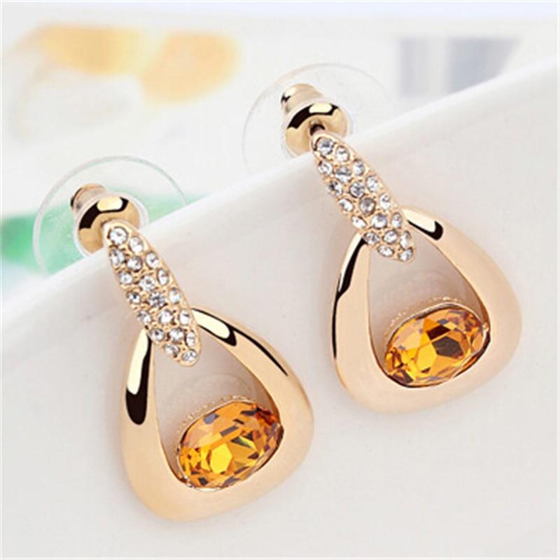 Dress Party Evening Elegant Earrings Women Dangle Earrings ...