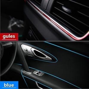 Image 5 - 3 mt 5 mt Auto Styling Innen Außen Dekoration Streifen Aufkleber für BMW E46 E52 E53 E60 E90 F01 F20 f10 F30 X1 X5 Auto Zubehör
