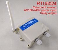 Outdoor waterproof RTU5024 GSM Gate Opener Relay Switch Remote Access Control By Free Call