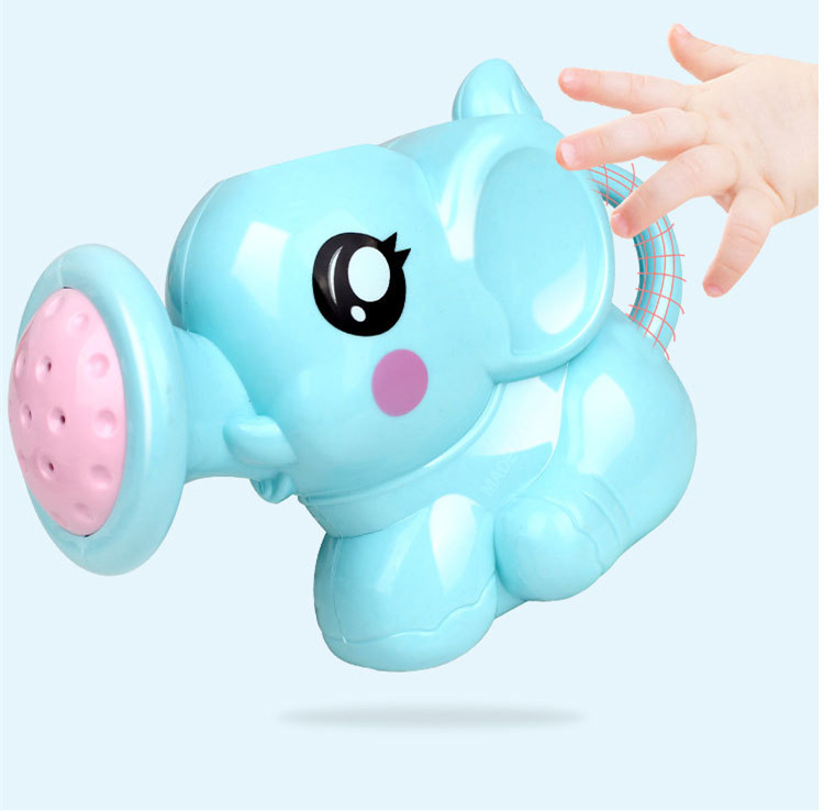 Classic Baby Bath Toys Lovely Plastic Elephant Shape Animal Children Bathroom Water Spray Toys For Baby Shower Swimming Toys Kid