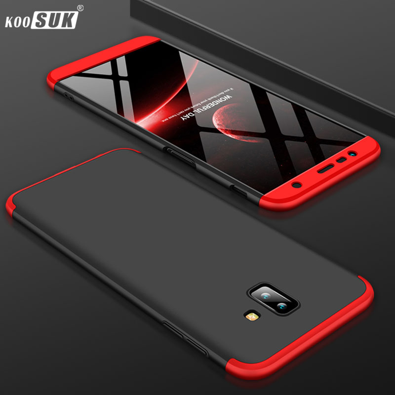 the best attitude 7ddbe 6a0d2 US $3.07 23% OFF|For Samsung Galaxy J6 Plus Case For J6 Prime 360 Full  Protection + Ultra Thin Protective Phone Cover J610F SM J610F J610 Coque-in  ...