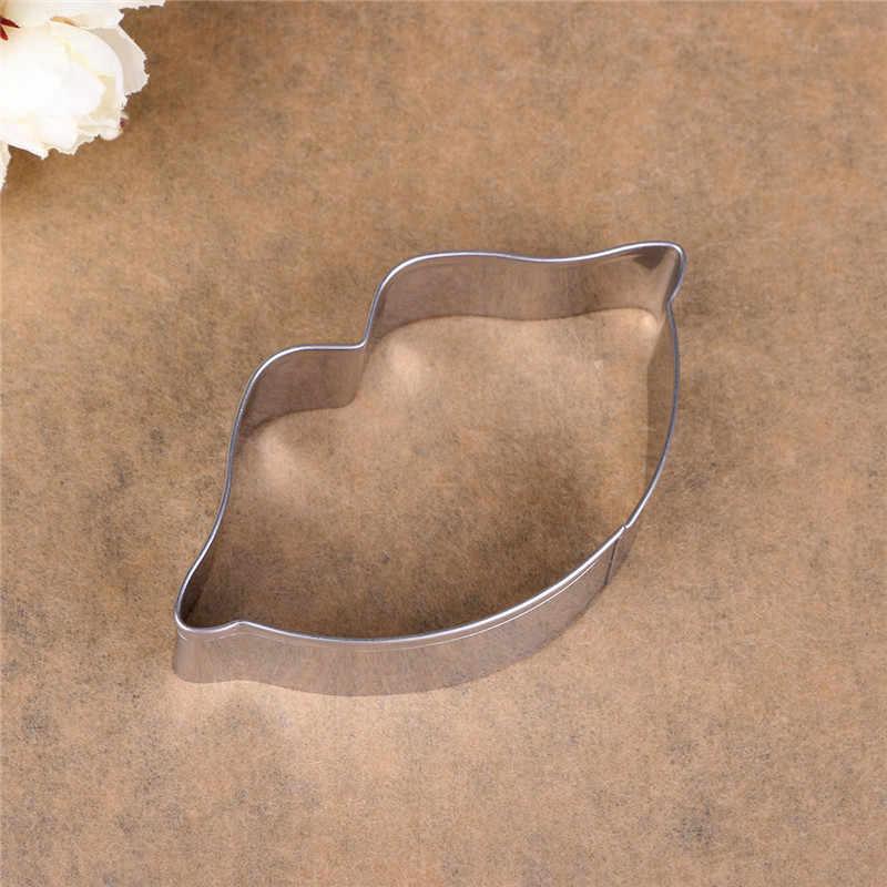 Delidge 3D مثير الشفاه موضوع الفولاذ المقاوم للصدأ قاطعة البسكوت 3D المعجنات البسكويت فندان كعكة الخبز العفن عيد الحب كعكة أدوات