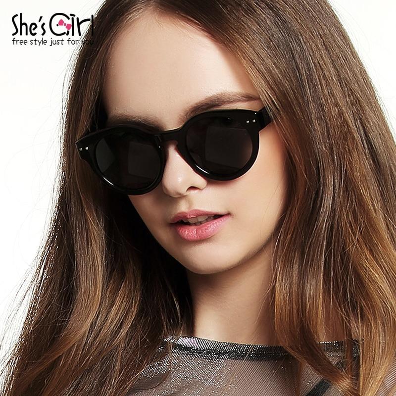 Shes chica cara redonda cara larga cat eye sunglasses marea para ...
