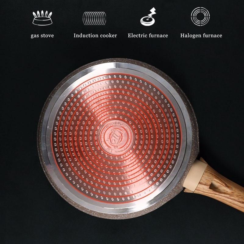 Medical Stone Non-stick Crepe Maker Frying Pan 4