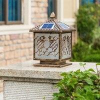Солнечные огни Настил Открытый сад от заката до рассвета света квадратный солнечной энергии света водонепроницаемый двор освещения